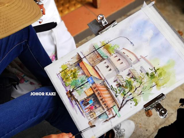 Urban Sketchers Singapore @ Old Tiong Bahru Bak Kut Teh