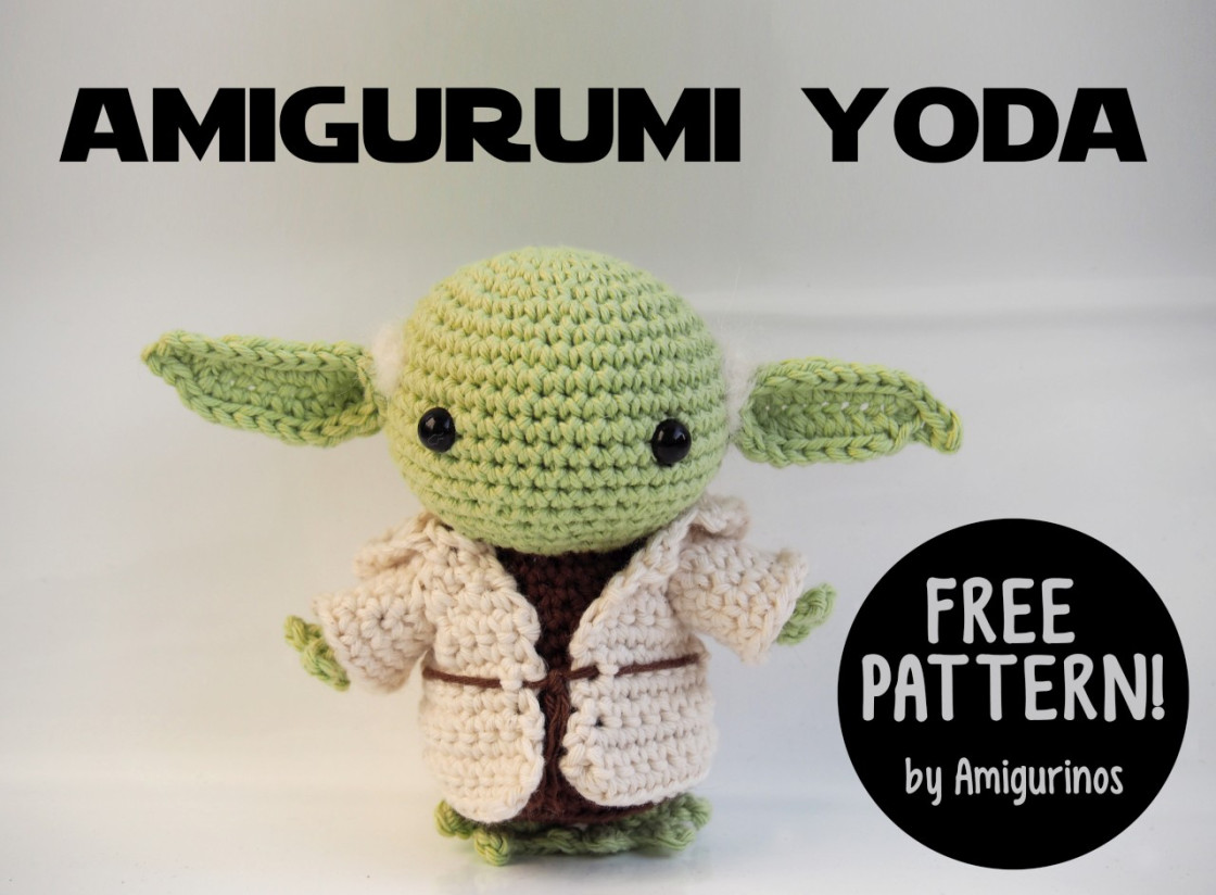 Fantasy Friday: Free Star Wars Amigurumi Patterns | Crochet Cricket | 824x1120