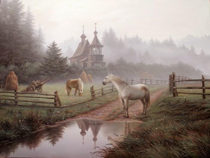 Российский художник. Алексей Сычев