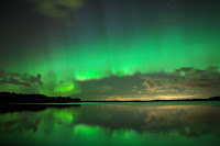 Aurora over Akaa