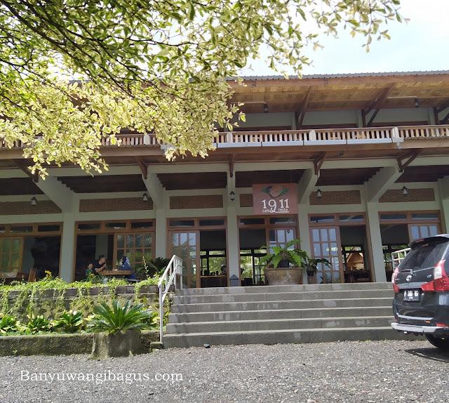 1911 cafe dan resto Kalibendo, Banyuwangi