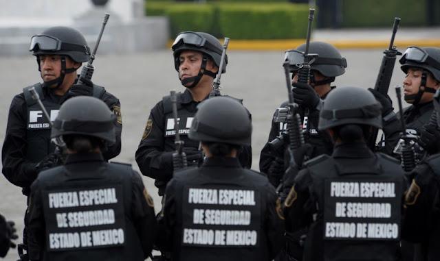 Policías Estado de México