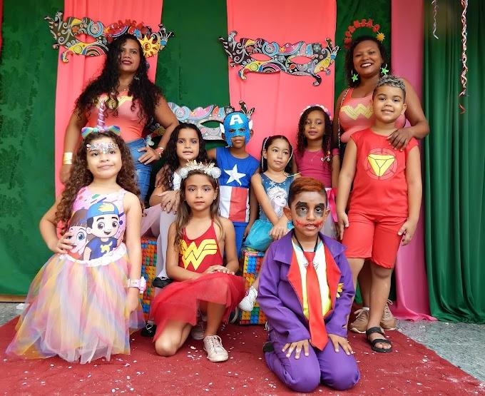 Carnaval no Centro Educacional Expansão em Santa Helena
