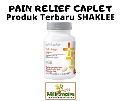 Pain Relief Caplet | Produk Baru Shaklee