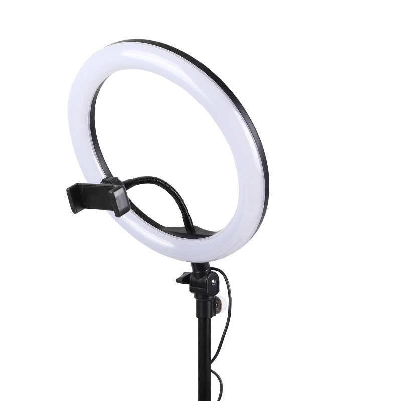 Ring-Light-Anneau-Bague-lumineux-LED-Diametre-33cm-Trepied-1m05-Maroc-casa