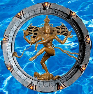 Shiva the Destroyer of Worlds Arived through the StarGate