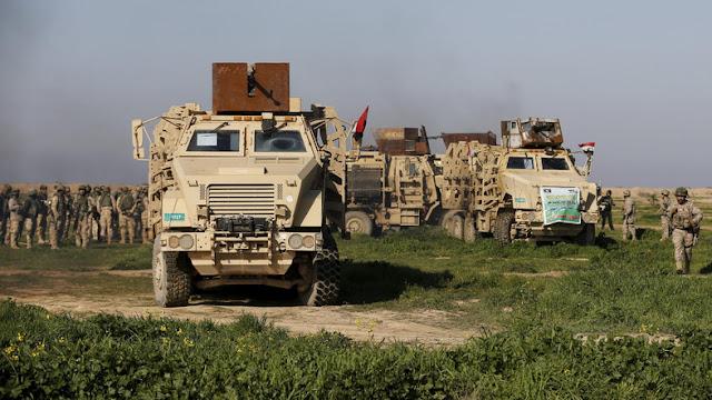 Iraque diz que suas forças estão empurrando o ISIS para fora de Mosul 'mais rapidamente do que eles pensavam.'
