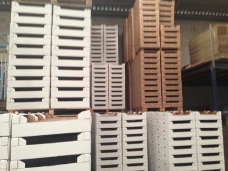 Cajas para frutas y verduras, embalaje para productos agroalimentarios.