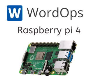 WordOps on Raspberry pi 4 - Easiest way to install and manage wordpress