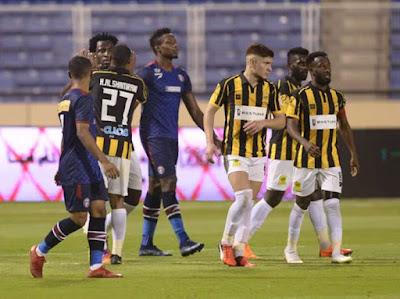 ملخص واهداف مباراة الاتحاد والعدالة (2-0) الدوري السعودي