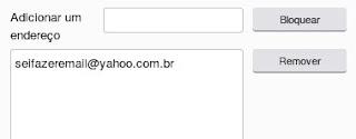 Como desbloquear um endereço de e-mail
