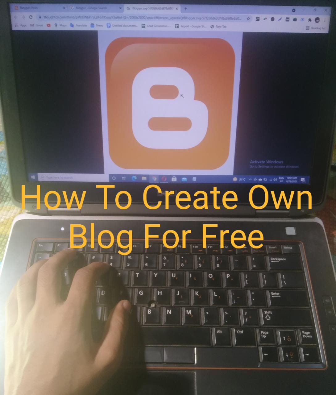 How To Crate Own Blog For Free On Google And Earn Money