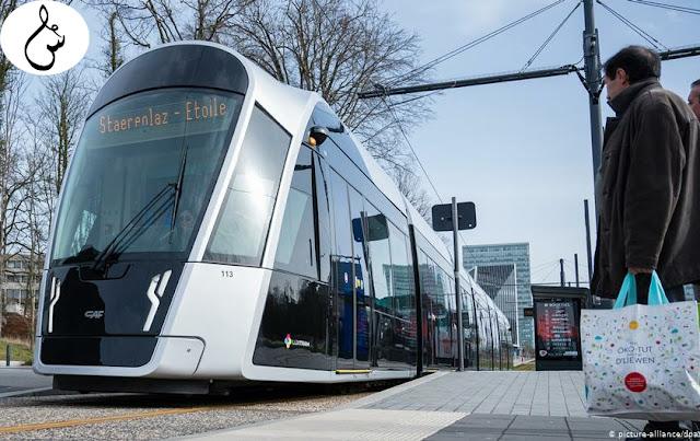 """أول دولة في العالم تجعل جميع وسائل النقل العامة بالمجان """"لوكسمبورغ"""" لكن القرار لا يرضي الجميع ؟"""