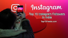 Top 10 Instagram Followers In India