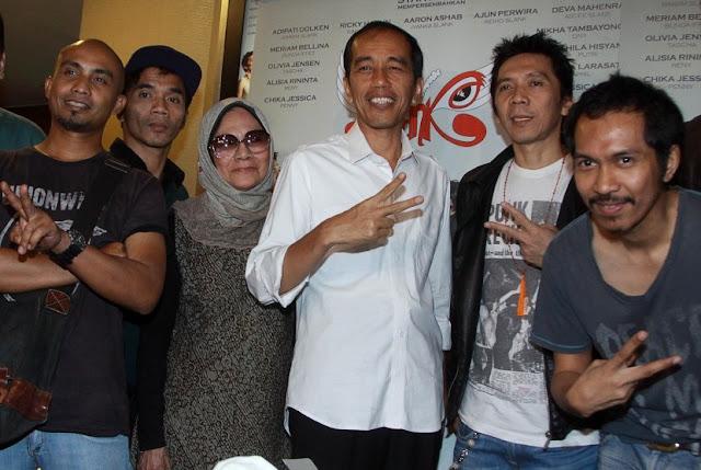 Demi Jilat Penguasa, Slank Membisu ketika Rezim Jokowi Matikan KPK
