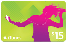 Best Buy ~ iTunes Gift Cards 15% Off