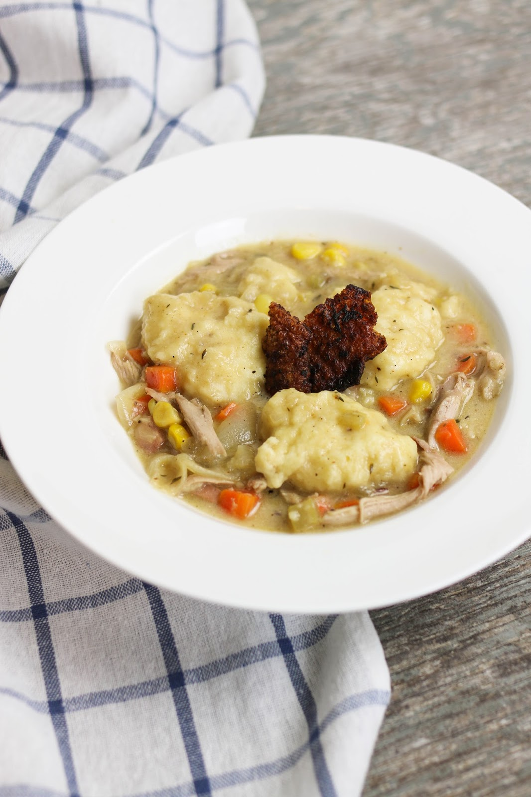Turkey & Dumplings Recipe