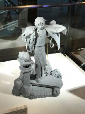 "Primeras imágenes del prototipo de Takashi Natsume y Nyanko sensei de ""Natsume degli spiriti"" - Aniplex"