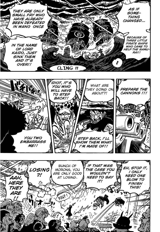One Piece Manga Chapter 975 - Image 007
