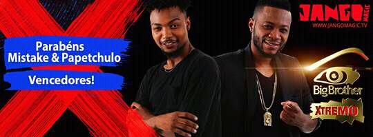Mistake e Papetchulo vencem Big Brother Xtremo Angola e Moçambique