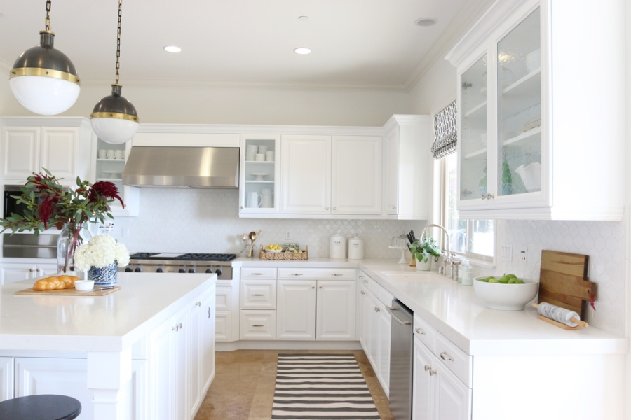 wystrój wnętrz, wnętrza, urządzanie mieszkania, dom, home decor, dekoracje, aranżacje, kuchnia, kitchen, metamorfoza, remont, przed i po, before and after, biel, white