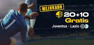 bwin promocion Juventus vs Lazio 22 diciembre 2019