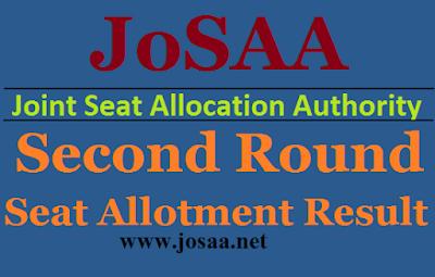 JOSAA 2017 2nd Round