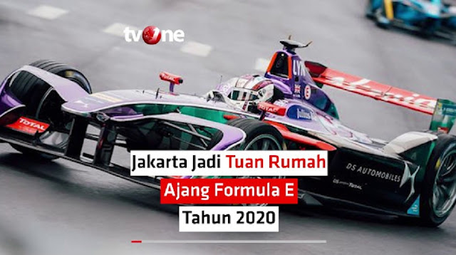 Jakarta Jadi Tuan Rumah Formula E 2020, Ini Lintasan Yang Bakal Dipakai