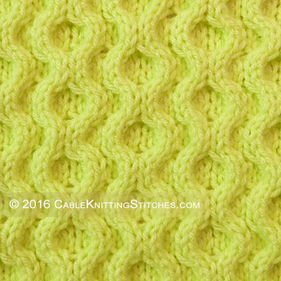 Cable Knitting Stitches » Honeycomb XOXO. Very easy. I really like the texture of this pattern