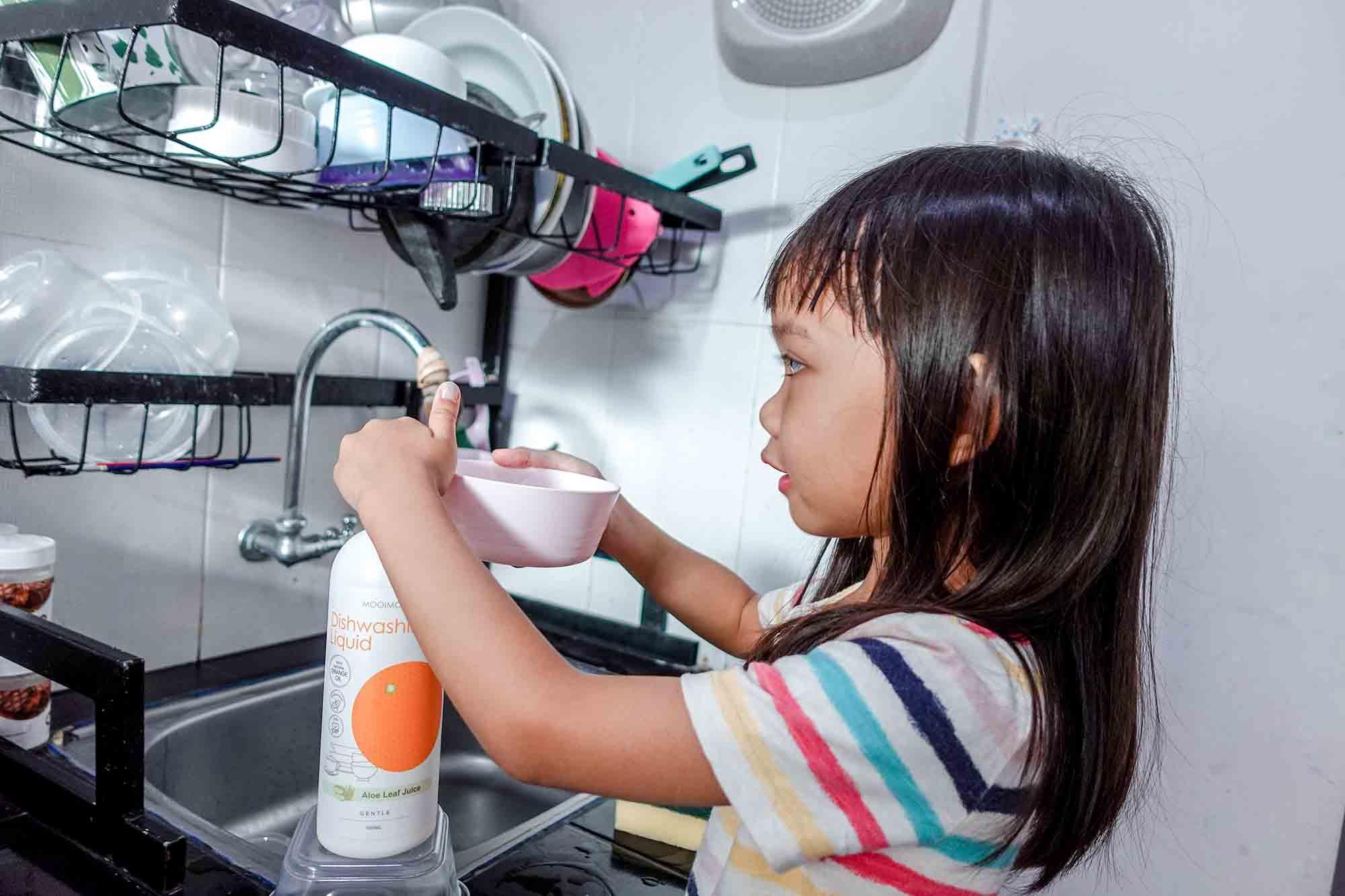 sabun cuci botol bayi yang aman