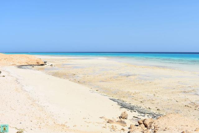 Sharm el Luli en  Wadi el Gemal, Marsa Alam
