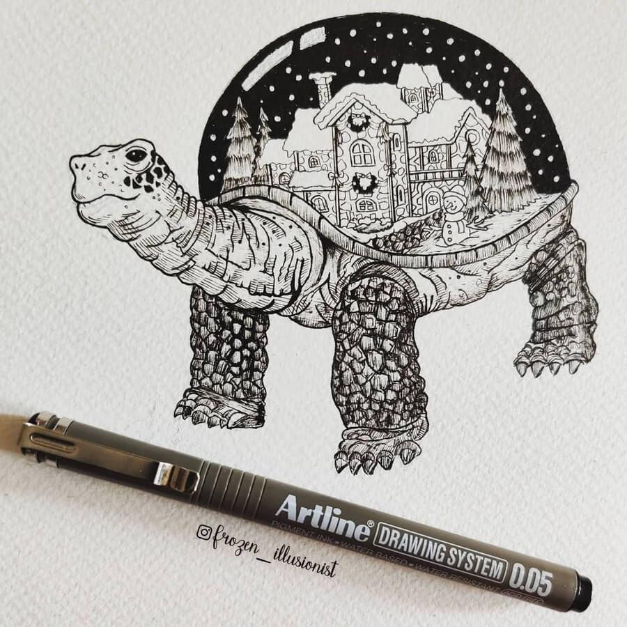 01-The-Snow-Globe-Turtle-Fiona-Victoria-www-designstack-co