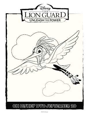 The Lion Guard Coloring Sheet Ono