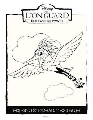 The Lion Guard Coloring Sheet Ono