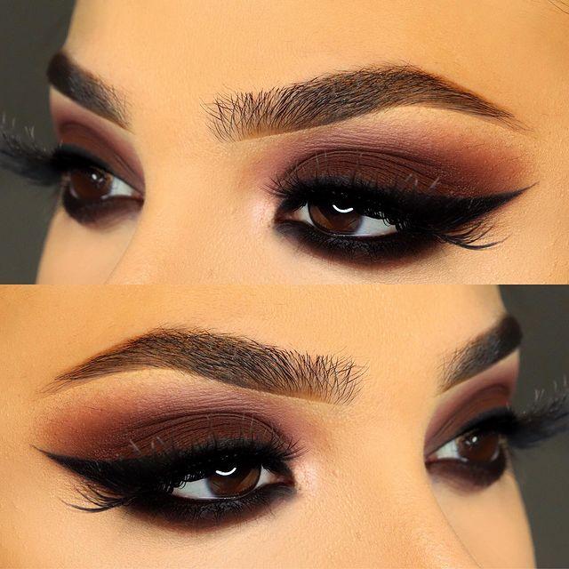 Maquiagem-sombra-marrom
