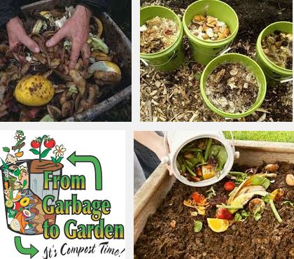 kitchen waste composting