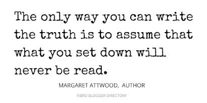 Margaret Attwood quote about writing