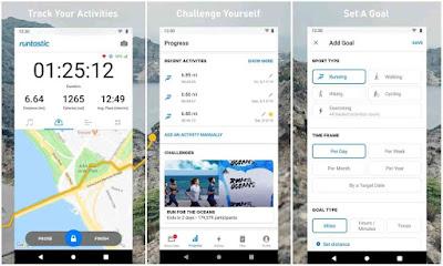 Aplikasi Olahraga Jogging Android Gratis