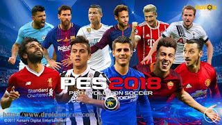 PES 2018 Mobile Mod UEFA Champions League Graphic