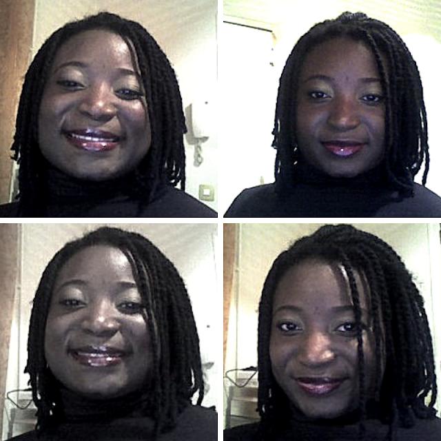 Coiffure cheveux crépus: Les yarn twists ou vanilles avec laine