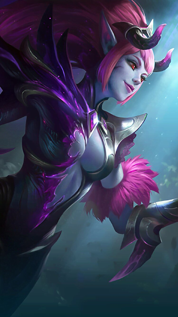 Wallpaper Selena Abyssal Witch Skin Mobile Legends HD for Android and iOS