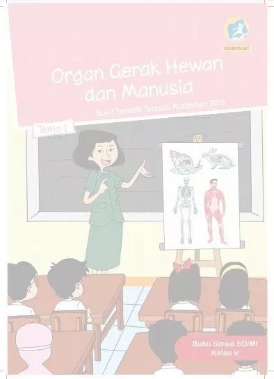 Cover/jilid Buku Siswa Kelas 5 Kurikulum 2013 K13 Edisi Revisi 2018