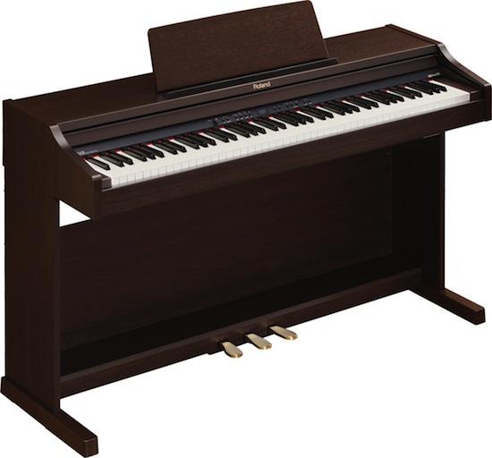 az piano reviews review roland rp301 rp301r digital pianos similar pianos with major. Black Bedroom Furniture Sets. Home Design Ideas