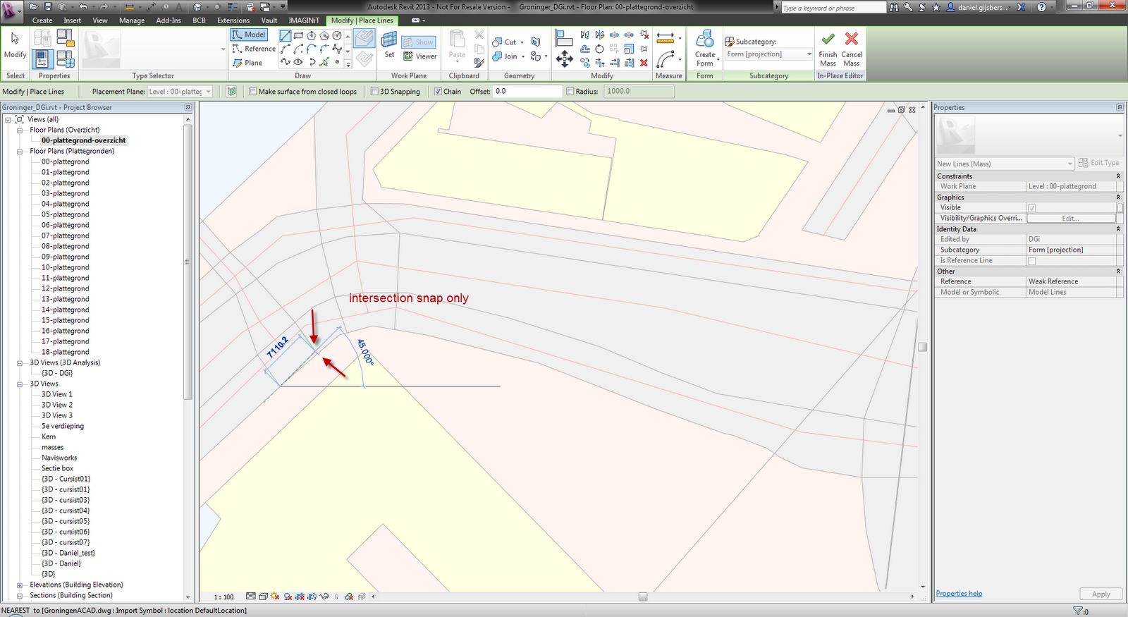 Drawing Lines Revit : Automatically convert dwg details to revit lines archsmarter