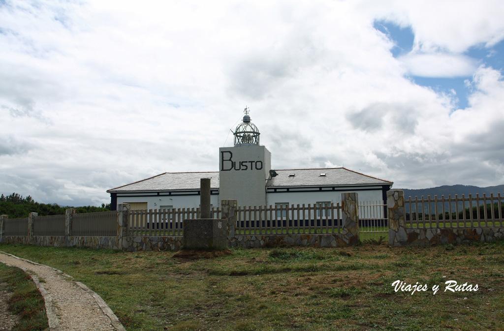 Faro Busto, Asturias
