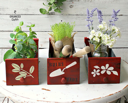 Upcycled Industrial Bins