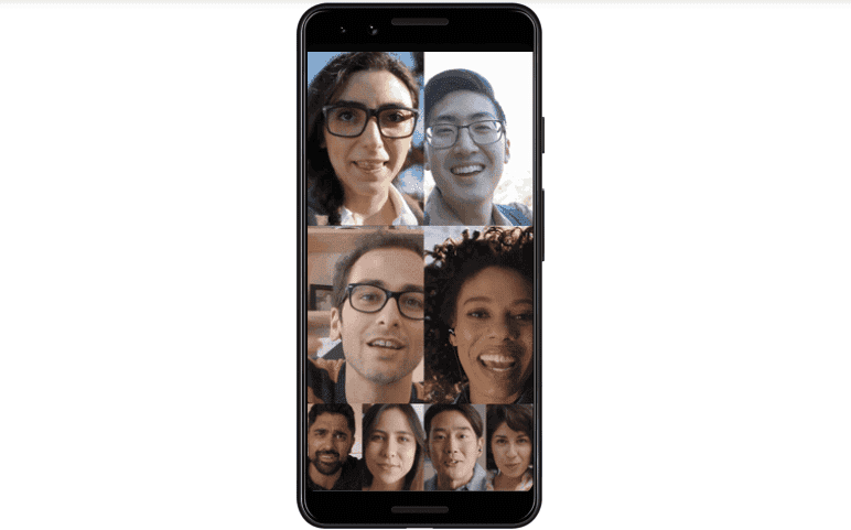 Google Officially Introduces Duo Eight-Person Group Calling