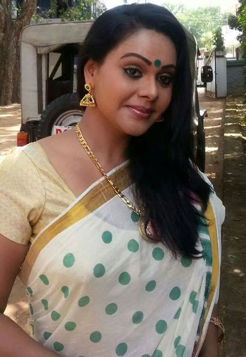 Rekha Ratheesh Parasparam Serial Actress Latest Photos -1323