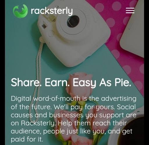 Racksterly Review: Scam or Legit - Share and Get Paid