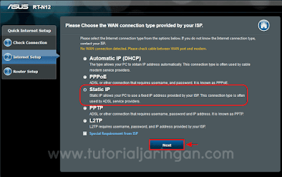 Tutorial Cara Setting Wireless Router ASUS RT-N12